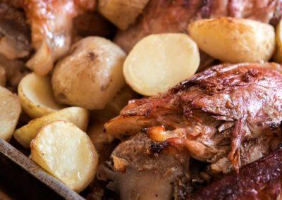 kraca in krompir